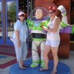 With Buzz Lightyear and Lizbeth Selvig, the 2010 Golden Heart® Winner for Single Title
