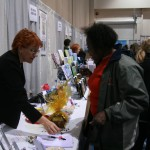 Lynda Bailey signs books at the 11th Annual Women's Expo in Reno, NV.